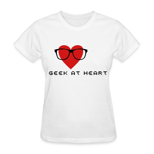 geek at heart - Women's T-Shirt