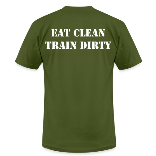 Men's Eat Clean, Train Dirty - Men's Fine Jersey T-Shirt