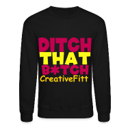 Long Sleeve Shirts ~ Crewneck Sweatshirt ~ CREATIVEFITT