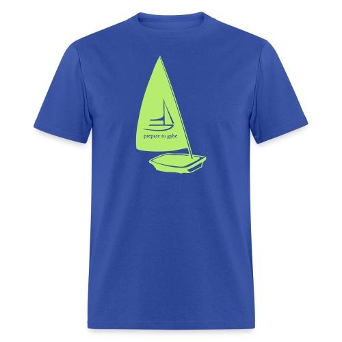 Prepare to gybe - Men's T-Shirt