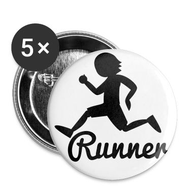 RUNNER shape person running Buttons