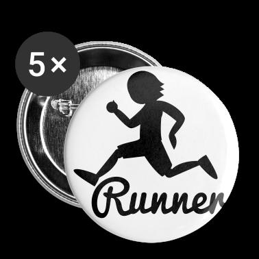 RUNNER shape person running Buttons