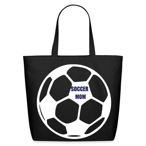 Soccer Mom Tote - Eco-Friendly Cotton Tote