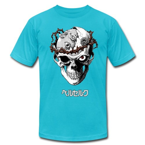 Broken-mind skull MALE - Men's  Jersey T-Shirt