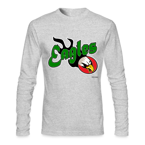 Eagles 001 - Men's Long Sleeve T-Shirt by Next Level