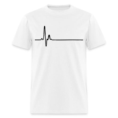Flat line T - Men's T-Shirt
