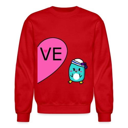 Girl Penguin Couple Shirt - Crewneck Sweatshirt