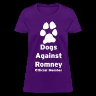 Women's T-Shirts ~ Women's T-Shirt ~ Official Mitt Romney Dog Womens Tee