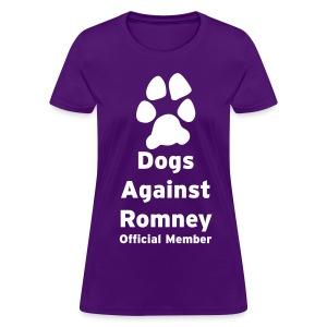 Official Mitt Romney Dog Womens Tee - Women's T-Shirt