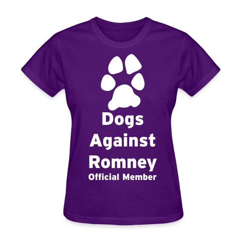 Official Mitt Romney Dog Womens Tee - Women's T-Shirt