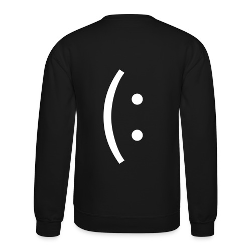 Smile (: Crew Neck Sweatshirt - Crewneck Sweatshirt