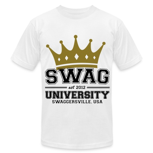 King of Swag University - Men's Fine Jersey T-Shirt