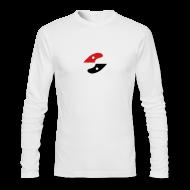 Long Sleeve Shirts ~ Men's Long Sleeve T-Shirt by American Apparel ~ GS long Sleeve - shirt- logo centered