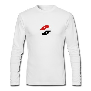 GS long Sleeve - shirt- logo centered - Men's Long Sleeve T-Shirt by Next Level