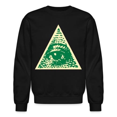 The  Eye C U Crewneck Sweater - Crewneck Sweatshirt