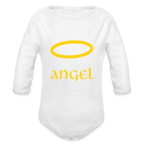 Angel on Earth - Organic Long Sleeve Baby Bodysuit