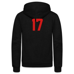 Left Cheek Love Women's Hooded Sweatshirt - Unisex Fleece Zip Hoodie