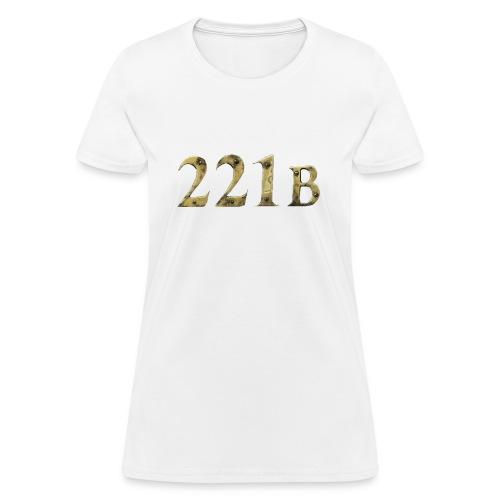 Women's 221B Tee - Women's T-Shirt