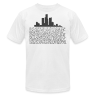 T-Shirts ~ Men's T-Shirt by American Apparel ~ I am Detroit