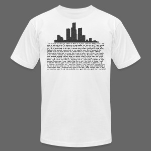 I am Detroit - Men's T-Shirt by American Apparel