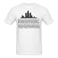 T-Shirts ~ Men's T-Shirt ~ I am Detroit