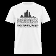 T-Shirts ~ Men's T-Shirt ~ I am Detroit