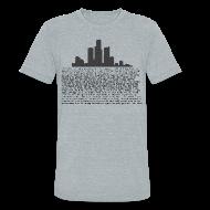 T-Shirts ~ Unisex Tri-Blend T-Shirt ~ I am Detroit