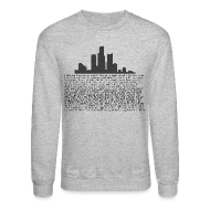 Long Sleeve Shirts ~ Crewneck Sweatshirt ~ I am Detroit