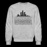 Long Sleeve Shirts ~ Crewneck Sweatshirt ~ I am Detroit