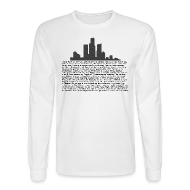 Long Sleeve Shirts ~ Men's Long Sleeve T-Shirt ~ I am Detroit