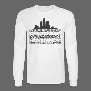 I am Detroit - Men's Long Sleeve T-Shirt