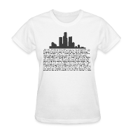 T-Shirts ~ Women's T-Shirt ~ I am Detroit