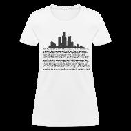 Women's T-Shirts ~ Women's T-Shirt ~ I am Detroit