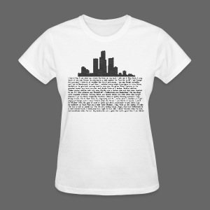 I am Detroit - Women's T-Shirt