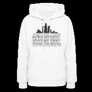 Hoodies ~ Women's Hoodie ~ I am Detroit