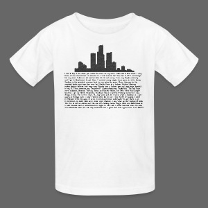I am Detroit - Kids' T-Shirt