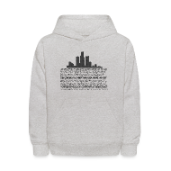 Sweatshirts ~ Kids' Hoodie ~ I am Detroit