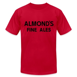 Almond's Fine Ales - Men's T-Shirt by American Apparel