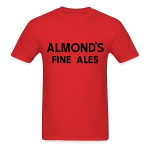 Almond's Fine Ales - Men's T-Shirt