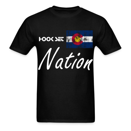Hook Set Nation Tee - Men's T-Shirt