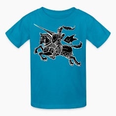 The Knight of Love Kids' Shirts