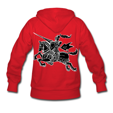 The Knight of Love Hoodies
