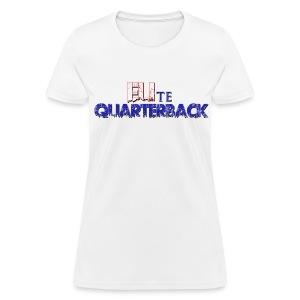 Eli Manning style ELIte Quarterback Shirt - Women's T-Shirt