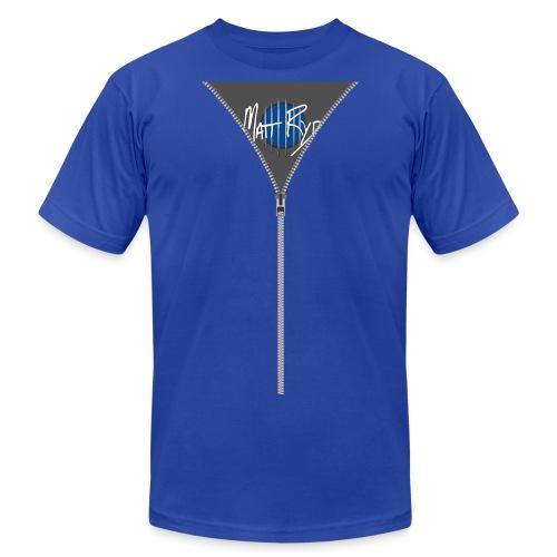 Unisex Matt Ryd Trompe L'oeil Hoodie shirt - Men's Fine Jersey T-Shirt