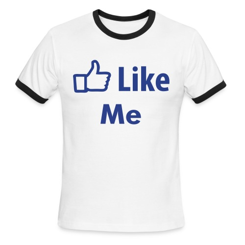 Like? - Men's Ringer T-Shirt