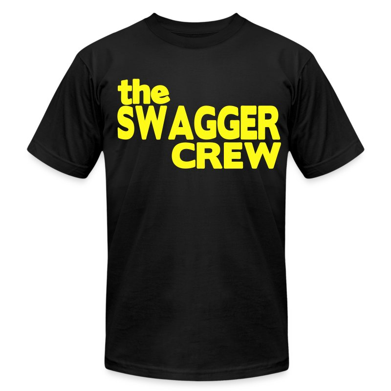 the SWAGGER CREW T-Shirts - Men's T-Shirt by American Apparel