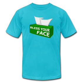 BLESS YOUR FACE (American Apparel) ~ 316