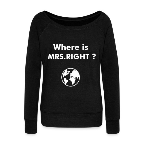 MB - Women's Wideneck Sweatshirt