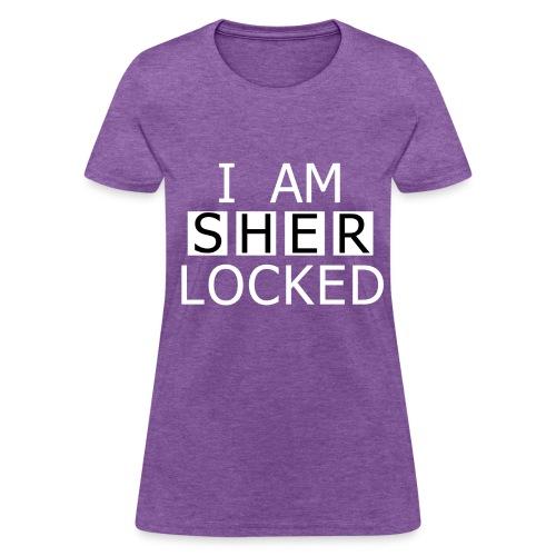 Women's Sher-locked Tee - Women's T-Shirt