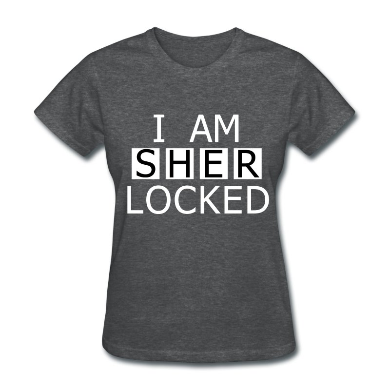 I am SHERLOCKED T-Shirt | Spreadshirt I Am Sherlocked Shirt